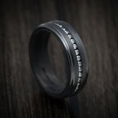Meteorite Wedding Band, Silicone Rings, Wave Ring, Carbon Fiber, Rings For Men, Jewelry Design, Wedding Rings, Pure Products, Zinedine Zidane