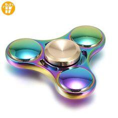 Fidget Hand Spinner,Dazzle colorful Spielzeug Tronisky Tri-Spinner High Speed Finger Spinner Funny Novelty Toys (multicolor #1) - Fidget spinner (*Partner-Link)