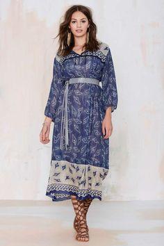 Vintage Suri Caftan Dress - Dresses