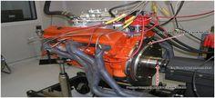 Engine Dynamometer Adalah alat yang digunakan untuk mengukur Torsi dan Horsepowerpada flywheel. Pada Engine Dynamometer, poros untuk masukkan (input) ke mesin Dyno (Dynamometer) ini mengambil titik pada roda flywheel yang terambung ke kruk-as (crankshaft).