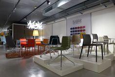Batiplus Contract Furniture, Steel Bar, Pendant Lamp, Polished Chrome, Floor Lamp, Showroom, Glow, Design Inspiration, Switzerland