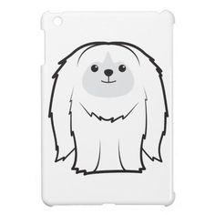Pekingese Dog Cartoon iPad Mini Case
