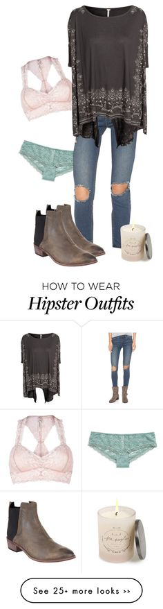 """""""One Brand Look: Free People (2)"""" by racheld28 on Polyvore featuring Free People, casual, denim, boho and Bohemian"""