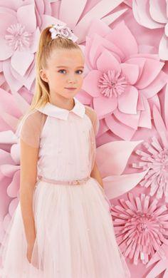Un rosa candido e tanto tanto tulle per una principessina dal sapore romantico ❤️