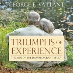 "George E. Vaillant's #Psychological #SocialSciences #Book ""Triumphs of Experience"" is now out in audiobook form. Sample the audio here: http://amblingbooks.com/books/view/triumphs_of_experience"