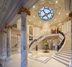 This will be the grand entrance to my ballroom!