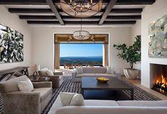 Luxury hilltop residence embraces scenic landscape in Santa Barbara