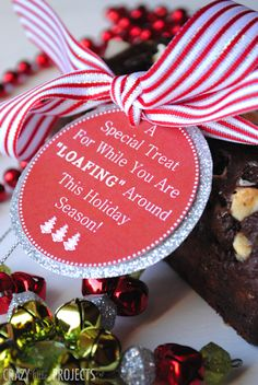 Holiday free printable tags for hostess gift
