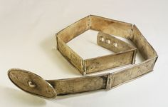 Silver ceremonial belt - Atoni people - West Timor