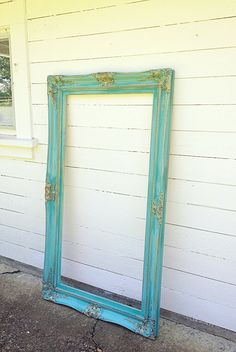 extra large ornate frame vintage wood baroque wall hanging leaning mirror shabby chic french antique dresser framed leaning mirror shabby chic