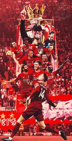 Liverpool Fc Team, Liverpool Poster, Liverpool Premier League, Liverpool Champions League, Salah Liverpool, Lfc Wallpaper, Liverpool Fc Wallpaper, Liverpool Wallpapers, Juergen Klopp