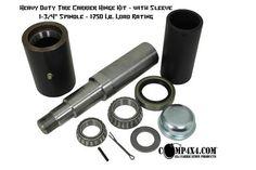 Heavy Duty Rear Bumper / Tire carrier Builders Kit - Comp4x4