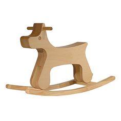 puppy rocking horse