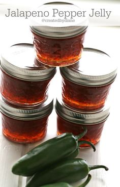 Taste is great but it's a mild pepper jelly with the recipe made as is. Will probably make it with a different ratio of seeded to unseeded jalapeño Jalapeno Jelly Recipes, Canning Jalapeno Peppers, Jalapeno Pepper Jelly, Pepper Jelly Recipes, Red Pepper Jelly, Red Jalapeno, Stuffed Jalapeno Peppers, Ball Pepper Jelly Recipe, Canning Salsa