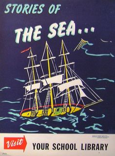 RETRO POSTER - Stories of the Sea by Enokson, via Flickr