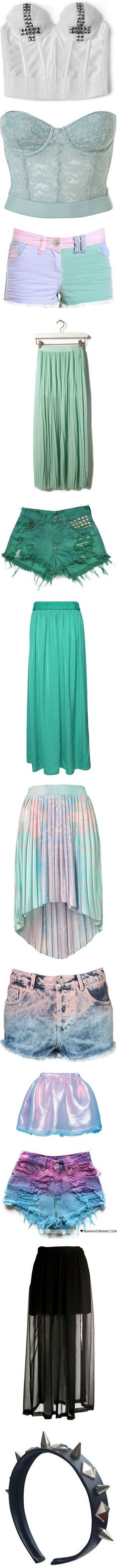 """""""Soft Grunge and Nu Goth 1"""" by lizardkitsch ❤ liked on Polyvore"""