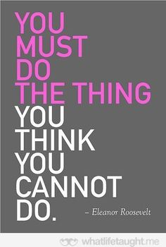 You cannot do