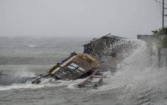 Typhoon Haiyan rolls into Philippines – in pictures