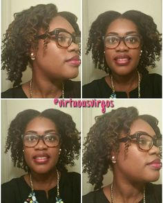 """""""Happy Tuesday ! Here is a twist and curl!  Co-Washed with Carols Daughter Biotin Conditioner from my @Curlbox.  I used the LOC Method. Moisturized with…"""""""