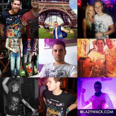#lazywack posse 10! Shop online: www.lazywack.com