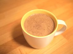 Bulletproof Mocha or Hot Chocolate  8-10 oz delicious high quality coffee, decaf coffee or hot water 1 tablespoon unsweetened cocoa powder (I like non-alkalized) 1 tablespoon xylitol (you can use Stevia or Truvia) 1-2 tablespoons grass fed butter 1-2 tablespoons MCT oil or coconut oil