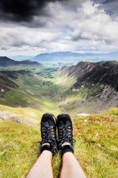 Fantastic walking country, Cumbria, England