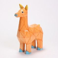 Ceramic Bisque Llama Color-Mea Pack of 12
