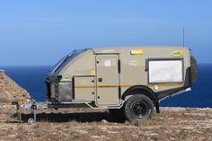 Awesome off road camper trailer. Echo Kavango. http://www.echo4x4.co.za http://www.fishinglondon.co.uk/