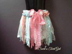SHABBY TUTU girls fairy tutu tattered tutu by SwirlnTwirlGirl
