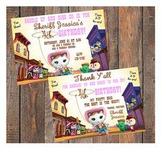Sheriff Callie's Wild West Birthday Invitation by KirstensKreation