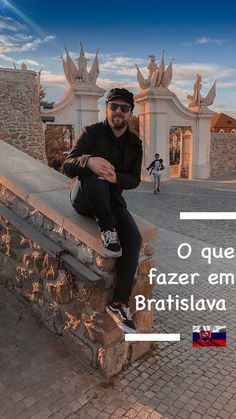 O que fazer em Bratislava Bratislava, Ems, Hipster, Tips, Hipsters, Hipster Outfits, Emergency Medicine