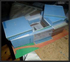 Yamato Museum Free Building Paper Model Download - http://www.papercraftsquare.com/yamato-museum-free-building-paper-model-download.html