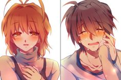 clannad, anime, and nagisa-bilde Fanarts Anime, Anime Manga, Anime Art, Angel Beats, Anime Girl And Boy, Koi, Clannad Anime, Clannad After Story, Anime Pictures