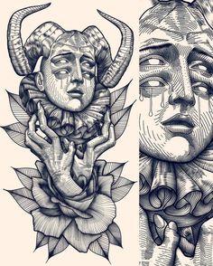 Dark Art Drawings, Tattoo Design Drawings, Art Drawings Sketches Simple, Tattoo Sketches, Tattoo Designs, Dark Tattoo, Psychedelic Art, Skin Art, Art Sketchbook