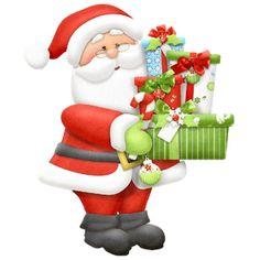 Santa Claus Page 1 - Disney And Cartoon Christmas Clip Art Images