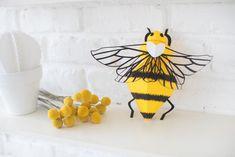 Patron abeille en papier