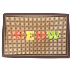 Oré  Pet™ Meow Cross-Stitch Mat #VonMaur #Pets #Animals