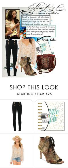 """Fresh Take - Pretty Little Liars S1E10 - Spencer"" by josieobryan on Polyvore featuring Balmain, Free People, Nanette Lepore, PrettyLittleLiars, spencerhastings, jojogoneboho and FreshTake"