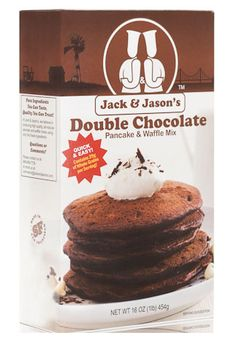 Jack & Jason's Double Chocolate Mix:Jack & Jason's Original MIx: Our Custom blend of organic whole wheat flour and oatmeal with Guittard cocoa and white chocolate chips!
