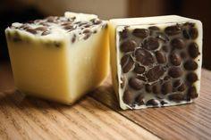 DIY hazelnut lotion bars! Maybe try doing a nutella lotion bar with hazelnut & cocoa?!