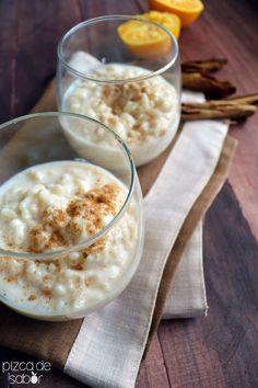 Cómo hacer arroz con leche www.pizcadesabor.com