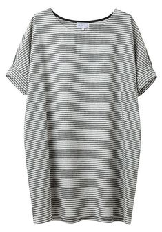 stripes/linen, this looks so comfy