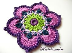 Flower rosette.  I wonder if I could figure this out...