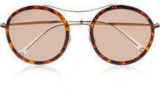 Pin for Later: Die 30 besten Sale-Schnäppchen  Gucci Sonnenbrille mit rundem Rahmen aus Azetat (ursprünglich 230 €, jetzt 138 €)