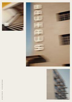 new graphic identity for the Bauhaus Dessau Foundation. (German graphic designers HORT)