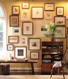 Entryway Décor Ideas & Entryway Inspiration | Pottery Barn Benjamin Moore™ Paint Color: Yellow Iris 373