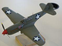 """P-40E  """"Kittyhawk"""""""