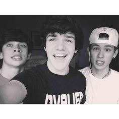 Too Perf Hayes Grier and Shawn Mendes Magcon ❤ liked on Polyvore featuring magcon