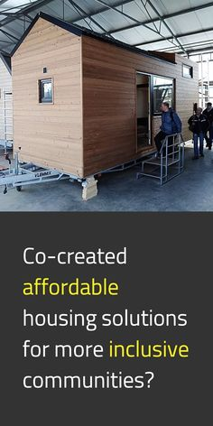 Ever heard of the 🏡 Solidary Mobile Housing project? Its creators introduced it through our website as a real-life laboratory on mobile housing solutions co-created for and with houseless people in the Brussels Capital Region. #NewEuropeanBauhaus #SocialInnovation #Inclusion #EUGreenDeal #StrongerTogether #EU 📸 Housing solution / © A. De Smet, B. Pak & Y. Schoonjans (KU Leuven Faculty of Architecture), G. Bruyneel & T. Van Heesvelde (Samenlevinsopbouw Brussel), B. Van Hoecke (#CAWBrussel) Concrete Path, Public Administration, Co Design, Affordable Housing, Brussels, Bauhaus, Home Projects, The Voice, Real Life