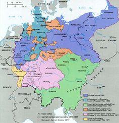 ✠ German unification (1866-1871) 2nd Reich than WW1 ! |² <  ☛ ۞ 237°    https://de.pinterest.com/garthebrown/geography/